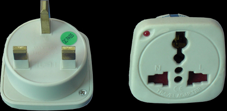 Super Electrical Simple Travel Adaptors